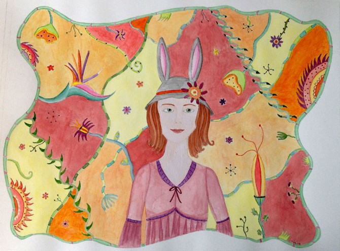 Rabbit Girl by Tashina Knight 2008
